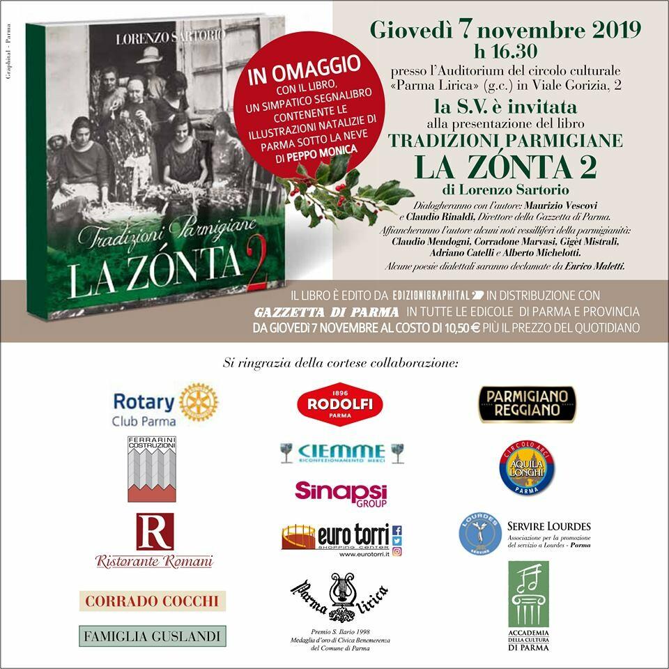 """Presentazione del libro """"LA ZONTA 2"""" di Lorenzo Sartorio"""