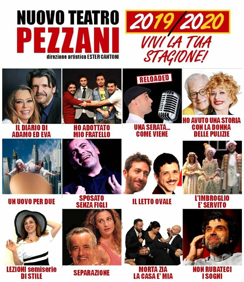 Abbonati alla stagione di Prosa del Nuovo Teatro Pezzani