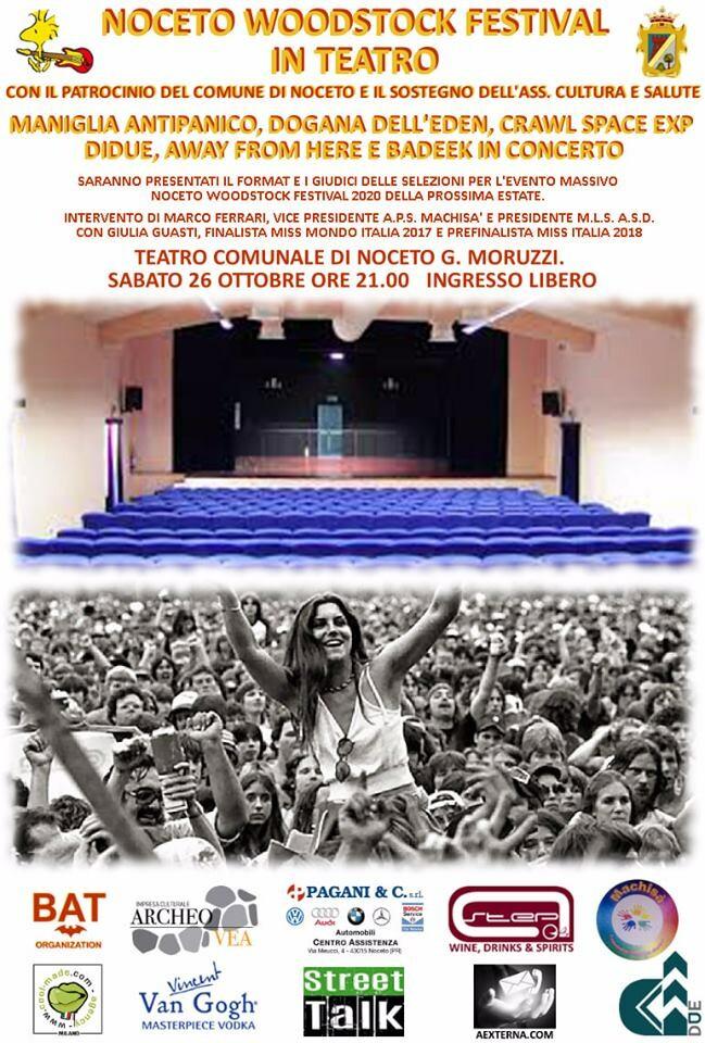 Noceto Woodstock festival