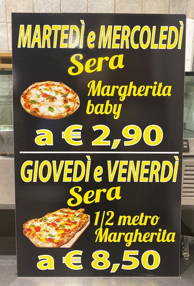 Promozione Pizza Fantasy