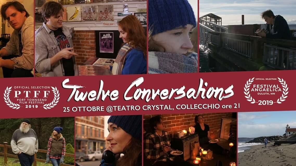 Proiezione dell'ultimo film indipendente del parmigiano Emanuele Valla Twelve Conversations (girato negli States)
