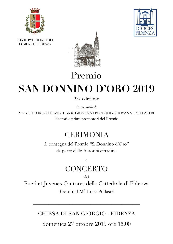 """Premio """"San Donnino d'Oro"""""""