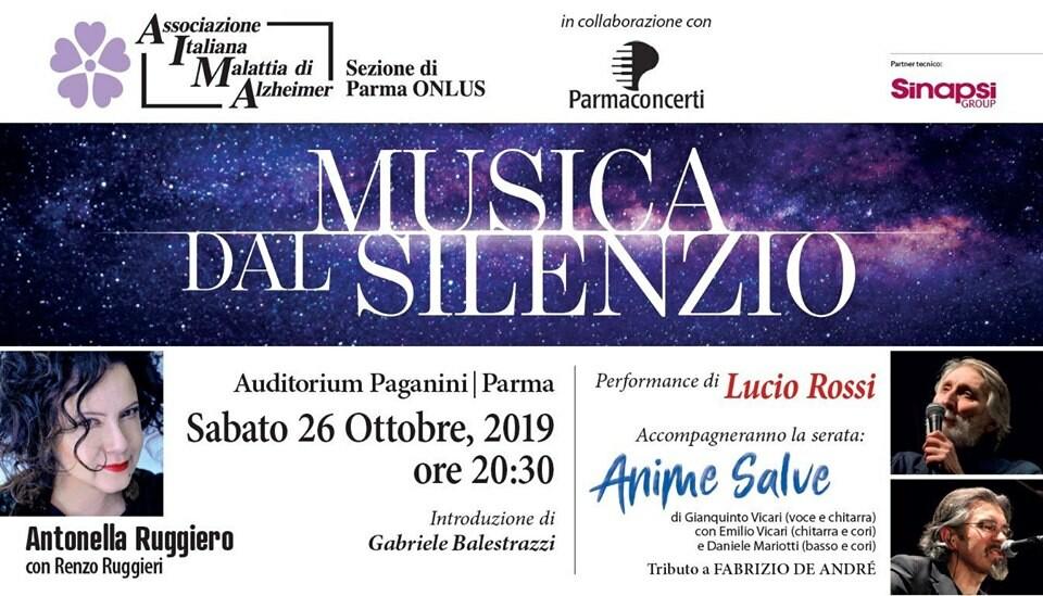 Musica dal Silenzio con Antonella Ruggiero e le Anime Salve all'auditorium Paganini