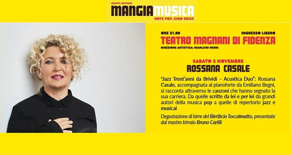 Mangiamusica 2019 seconda serata: Rossana Casale