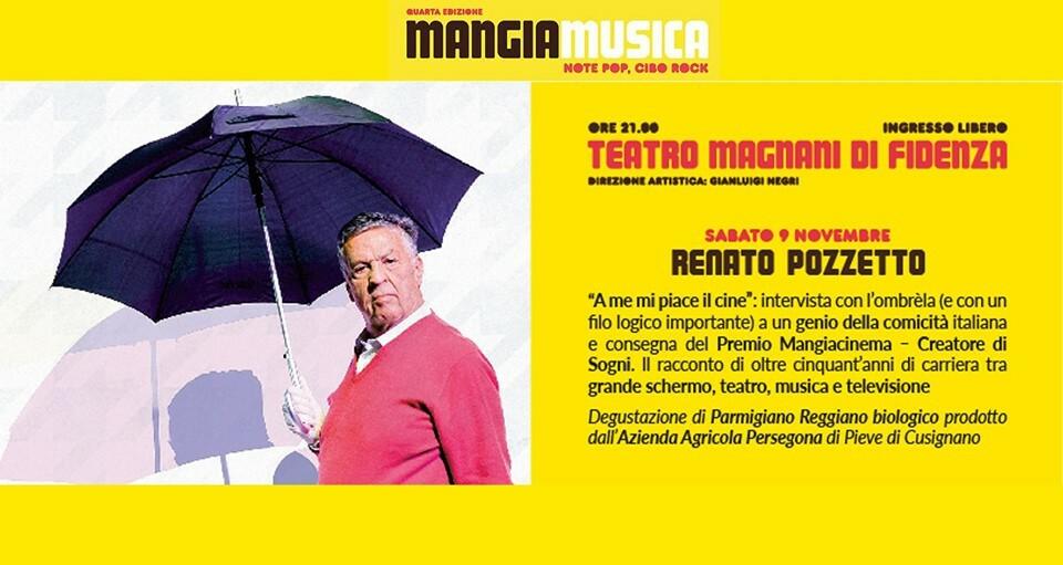 Mangiamusica 2019 terza serata: Renato Pozzetto