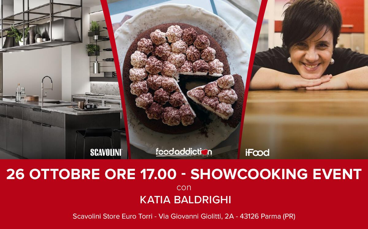 Show-cooking con la foodblogger Katia Baldrighi: i segreti per preparare una soffice torta sui fornelli