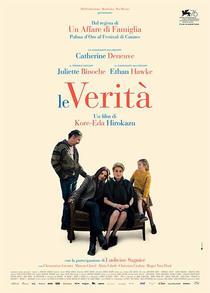 LE VERITA'  Film d'apertura al Festival di Venezia al Cinema Astra