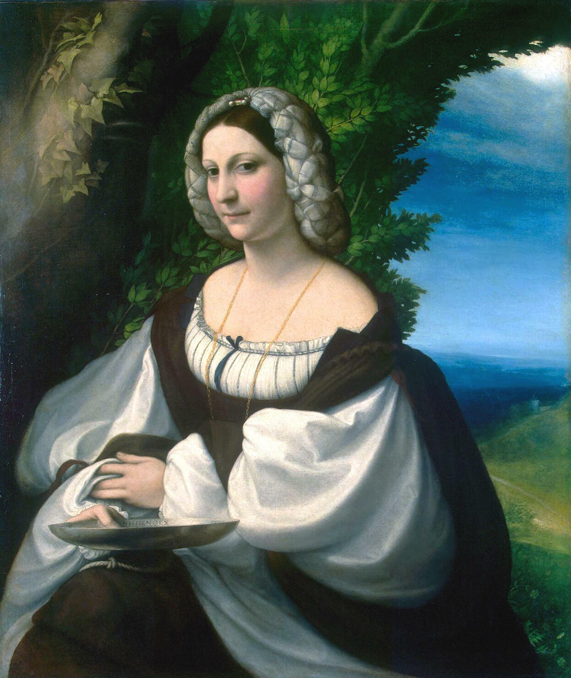 """Il """"Ritratto di giovane donna"""" del CORREGGIO dall'Ermitage ai Chiostri di San Pietro"""