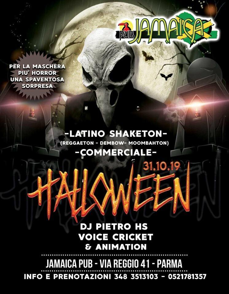 Halloween al JAMAICA PUB PARMA
