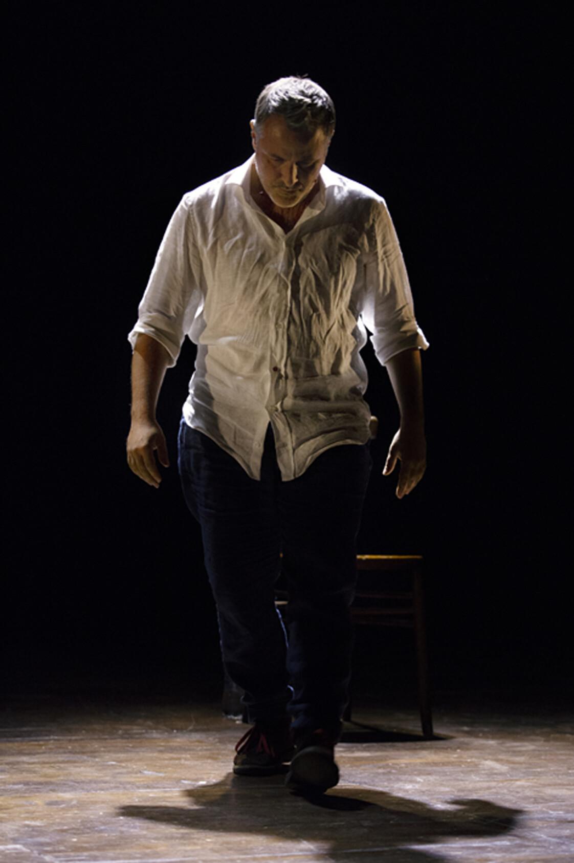 """""""L'abisso"""" di Davide Enia al Teatro di Ragazzola"""