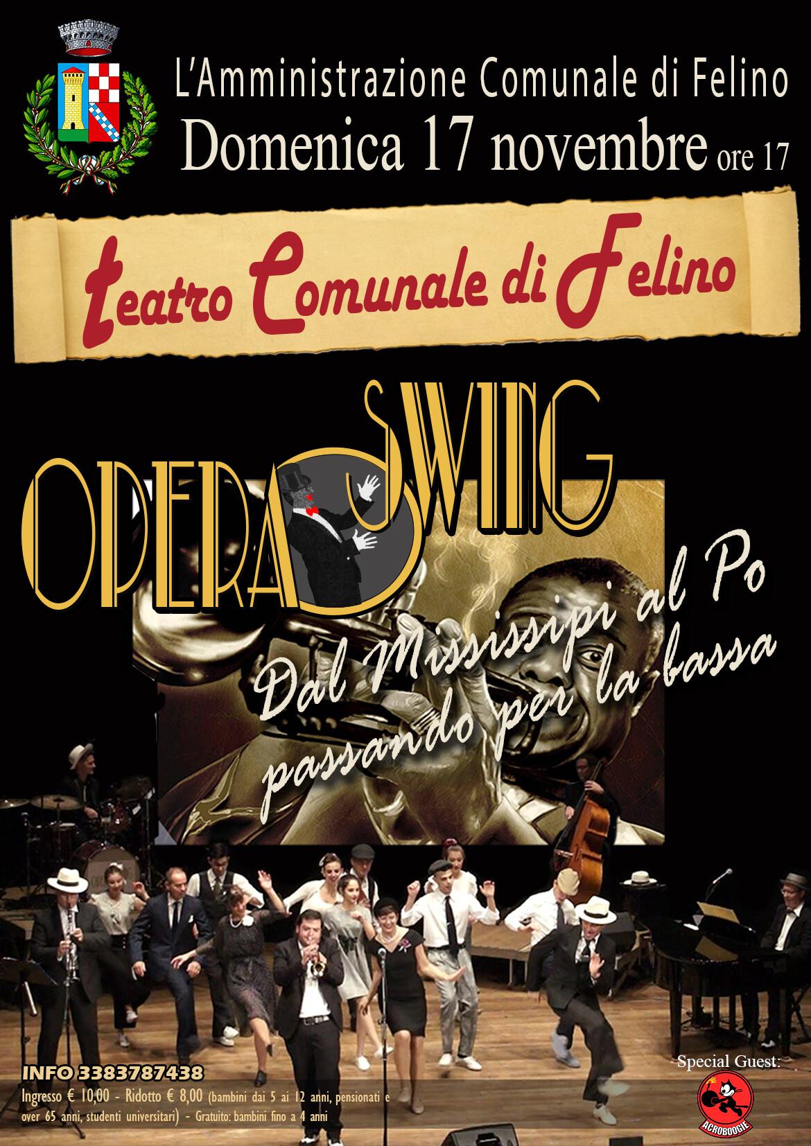 Opera Swing: Dal Mississipi al Po passando per la Bassa