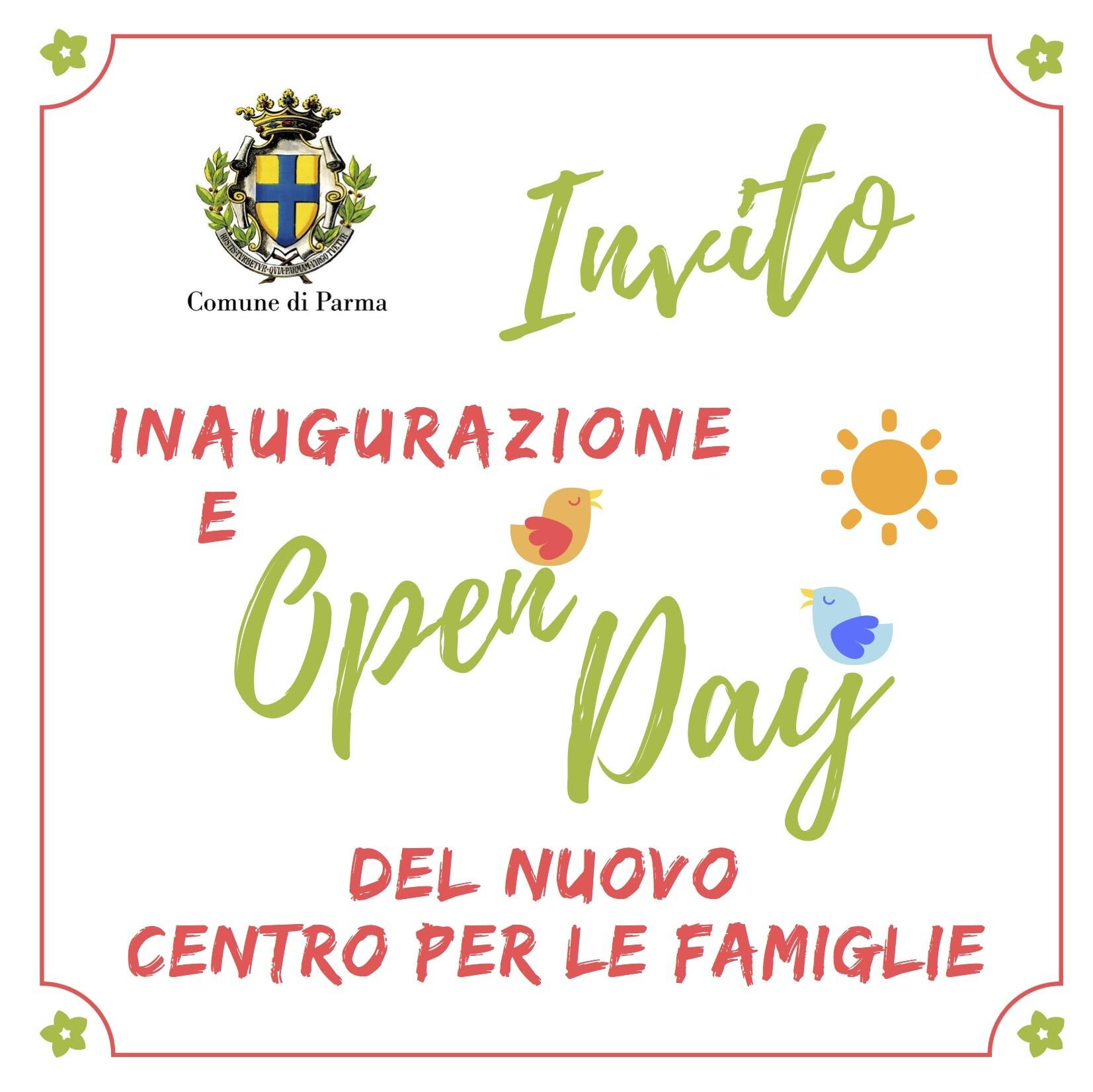 FESTA DI HALLOWEEN Siete tutti invitati all'inaugurazione della nuova sede del Centro per le Famiglie del Comune di Parma