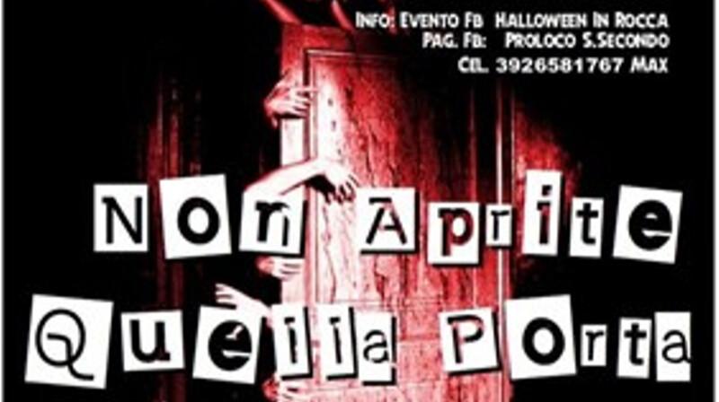 """""""Non aprite quella porta"""" – Halloween in Rocca"""