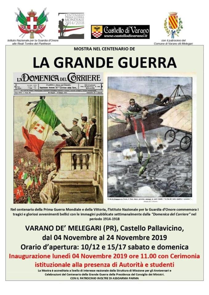 Mostra nel centenario deLA GRANDE GUERRA