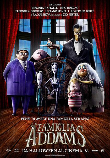 LA FAMIGLIA ADDAMS al cinema Grand'Italia
