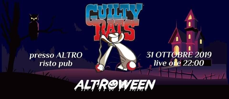 ALTROWEEN - Guilty Rats live