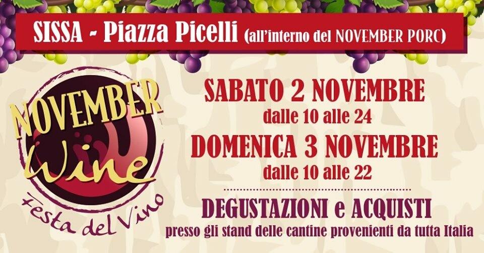November Wine a Sissa
