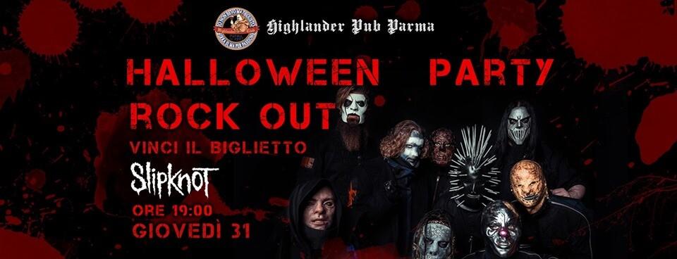 Halloween al pub Highlander: FESTA IN MASCHERA - CIBO & BIRRA A TEMA E TANTA MUSICA METAL
