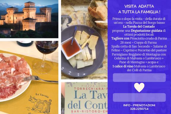 Visita guidata in abiti medievali al castello di Torrechiara
