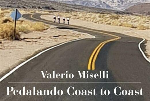 """Presentazione del libro """"Pedalando Coast to Coast"""" di Valerio Miselli."""