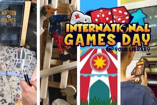 INTERNATIONAL GAMES DAY 2019 nella biblioteche di Parma