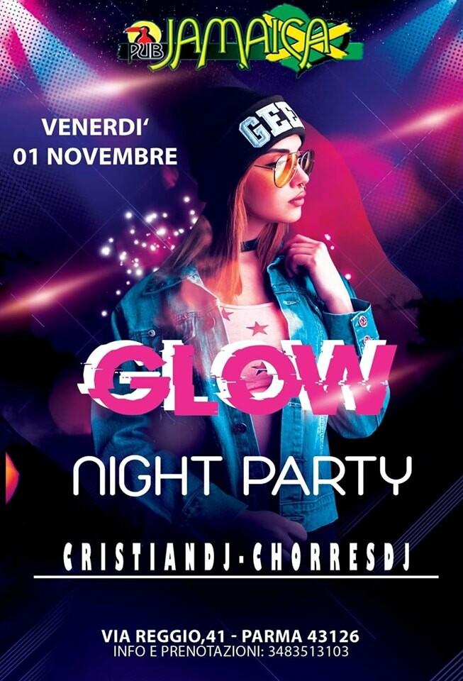 Glow Night Party , il nuovo Venerdì del Jamaica .