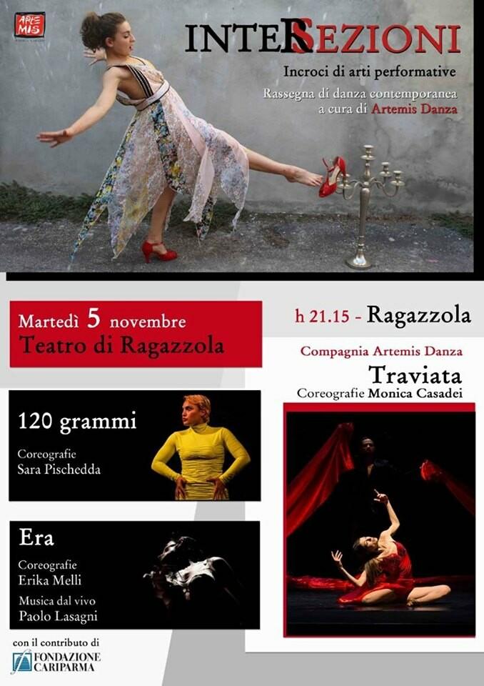 Rassegna di danza contemporane al  Teatro Di Ragazzola con ingresso gratuito