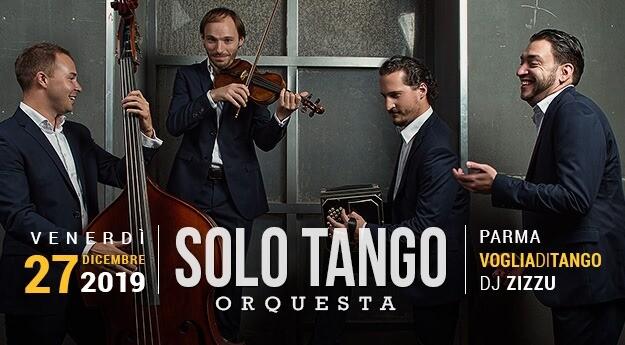 La Solo Tango Orquesta dal vivo a Voglia di Tango Tdj F.Zizzu