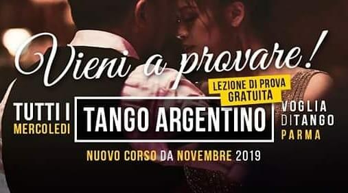 Nuovo corso principianti di Voglia di Tango