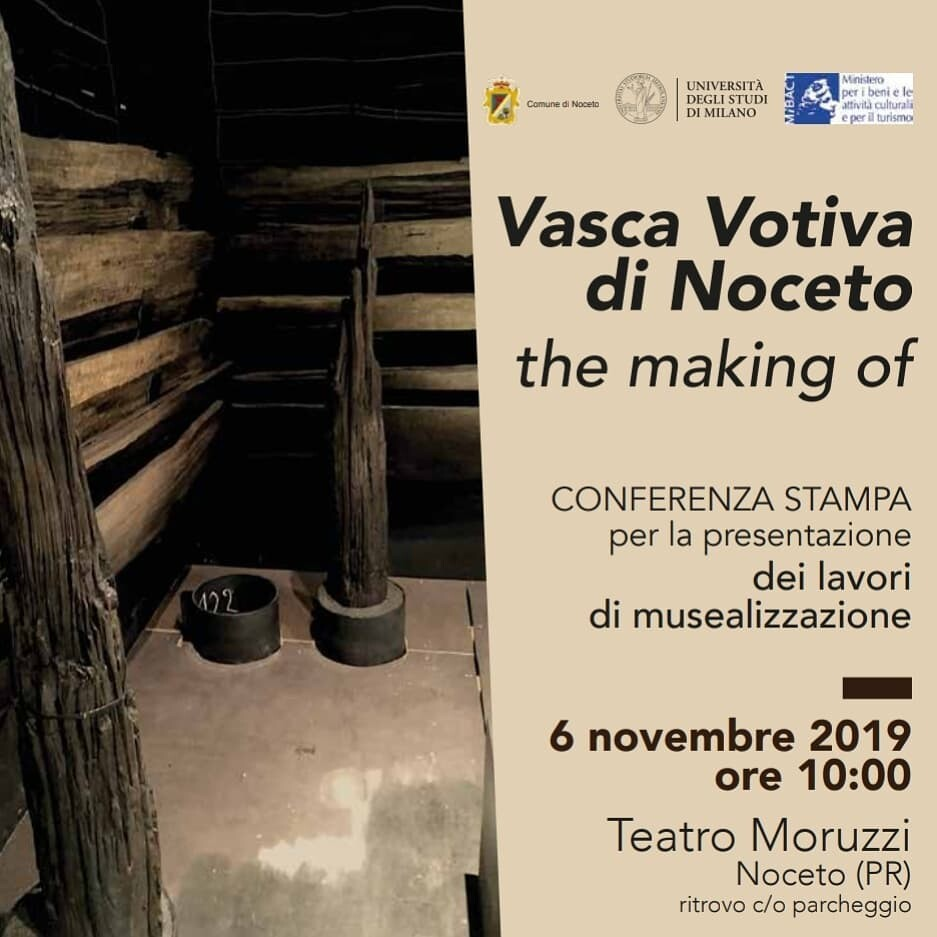 La Vasca Votiva di Noceto il più importante rinvenimento archeologico in Italia degli ultimi 20 anni