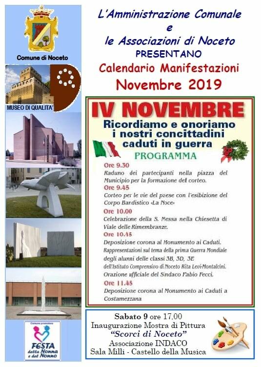 Festa dell'Unità Nazionale & Giornata delle Forze Armate a Noceto