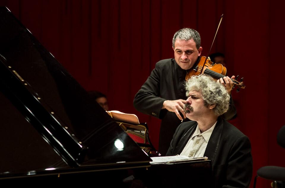 Concerto di DOMENICO NORDIO violino MIKHAIL LIDSKY pianoforte alle Terme Berzieri