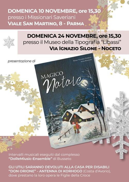 Presentazione dle libro  Magico Natale presso i Missionari Saveriani
