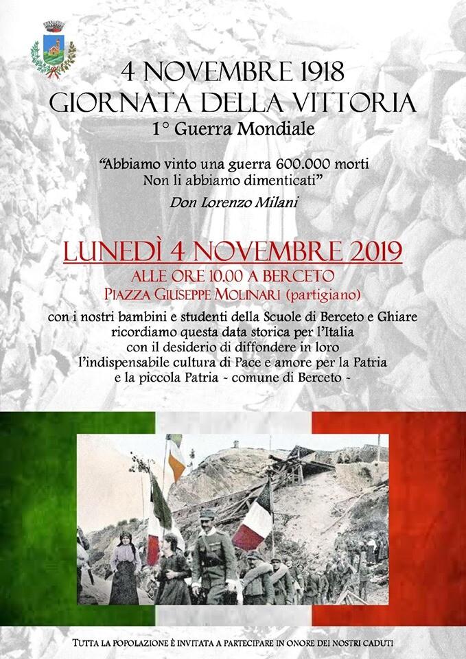 4 novembre 1918 GIORNATA DELLA VITTORIA