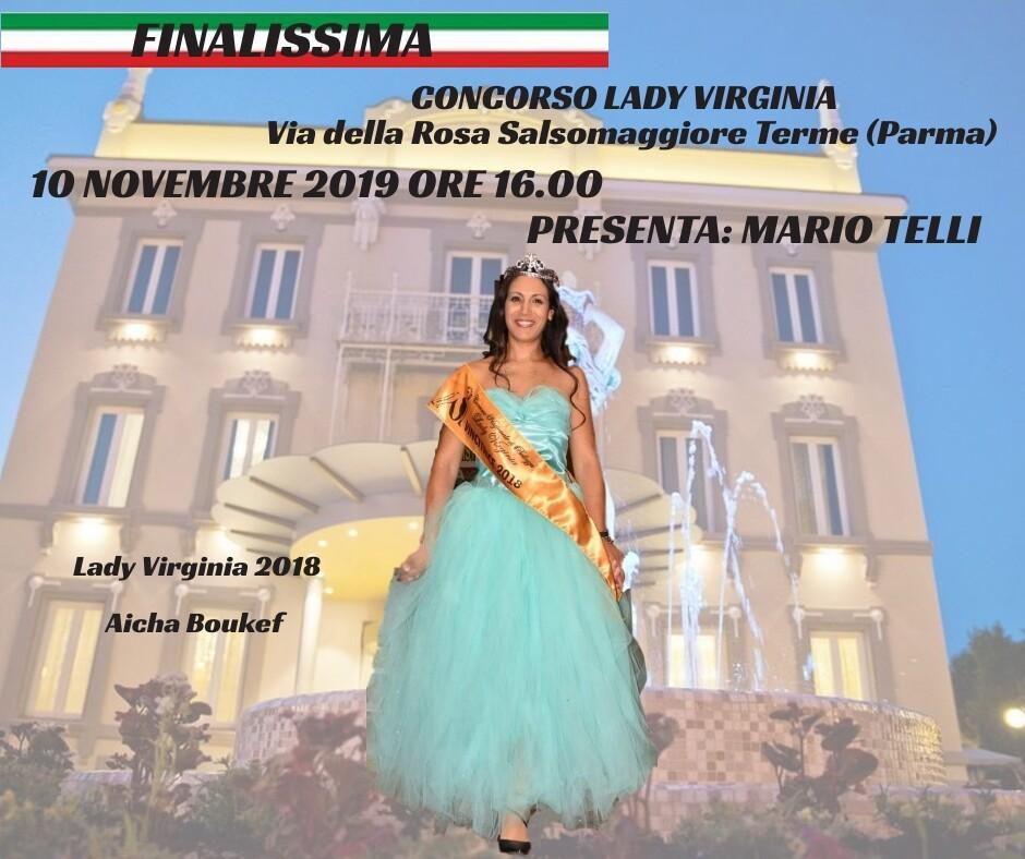 Finale del Concorso Nazionale Lady Virginia.
