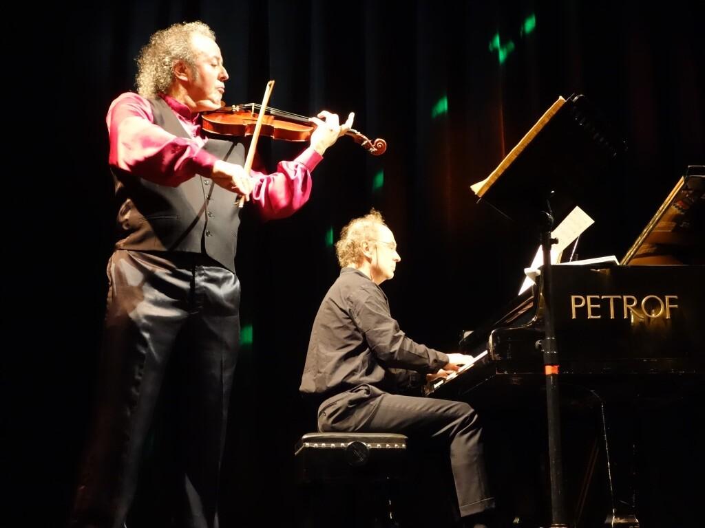 """A Tu per Tu : """"España"""", l'accoppiata di livello mondiale Palomares (violino) - Rucli (Pianoforte"""