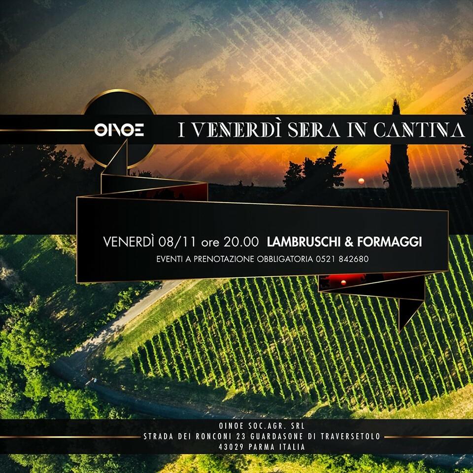 I venerdì sera in cantina - Serata di degustazione vini e formaggi da OINOE