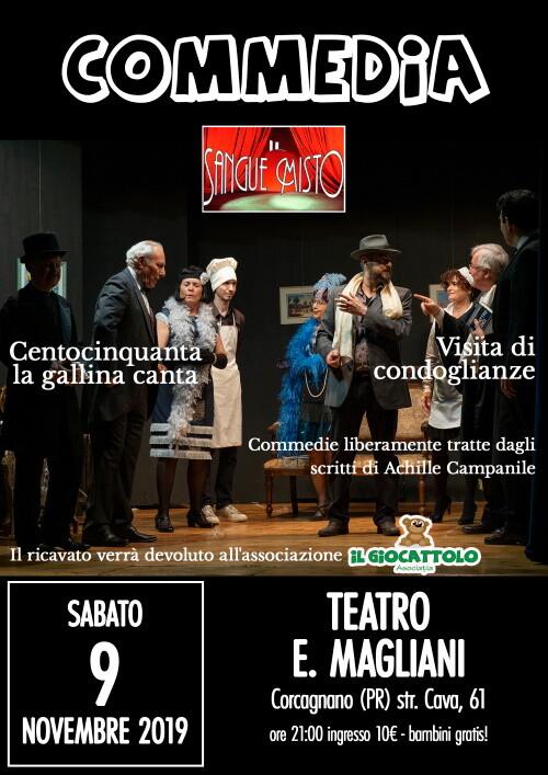 Centocinquanta la gallina canta, in scena a Corcagnano