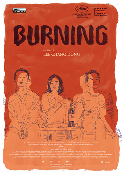 BURNING-L'AMORE BRUCIAal cinema Astra