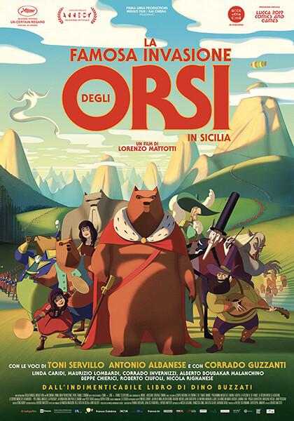 La famosa invasione degli orsi in Sicilia al cinema Astra