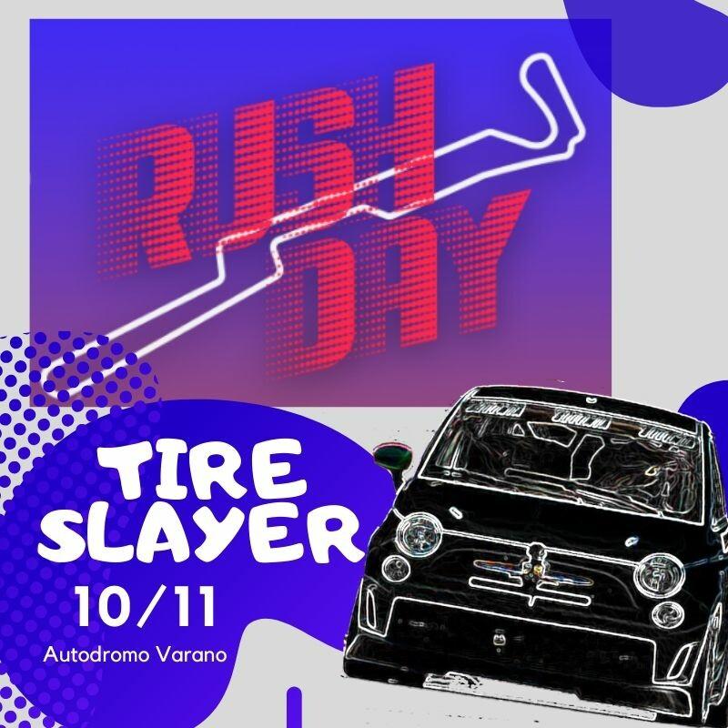 Tire Slayer NON SOLO ABARTH all'Autodromo Paletti