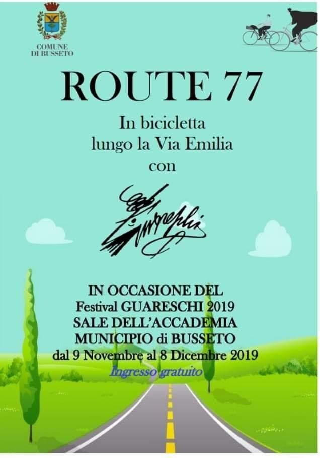 Route 77 In bicicletta lungo la via Emilia con Giovannino Guareschi