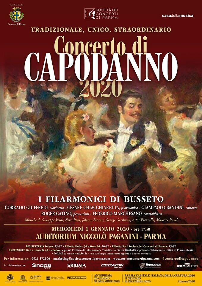 I Filarmonici di Busseto - Concerto di Capodanno 2020