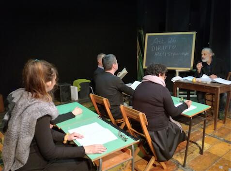 XXII stagione teatrale del Teatro del Tempo: COMPAGNI DI CLASSE    di Matteo Bacchini
