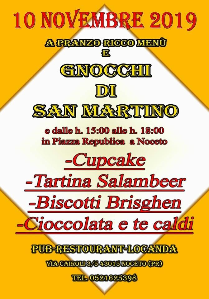 Gnocchi di San Martino  al 19.28 pub gourmet