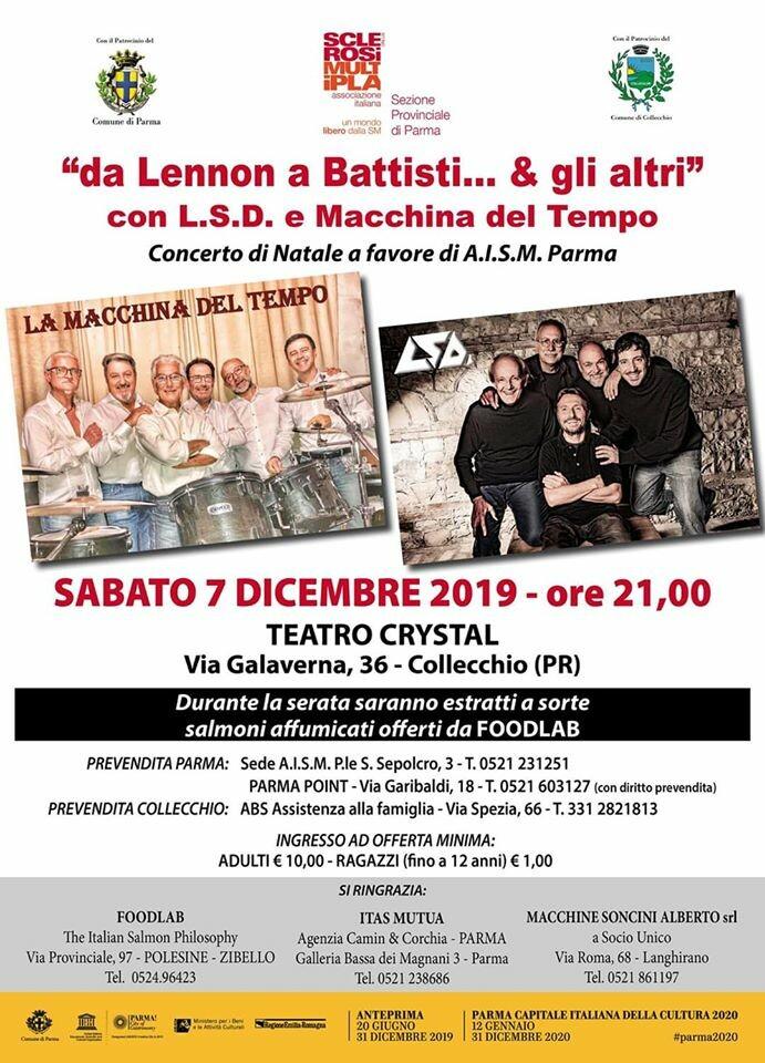 """""""da Lennon a Battisti ...e gli altri"""" con LSD e La Macchina Del Tempo"""