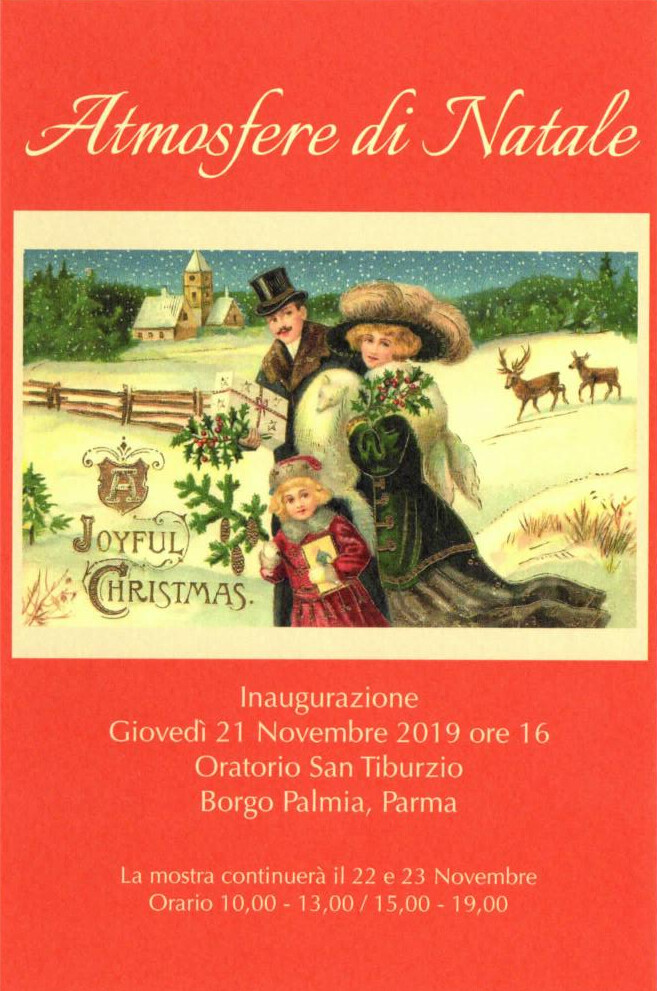 Atmosfere di Natale, mostra all'Antica farmacia San Filippo Neri