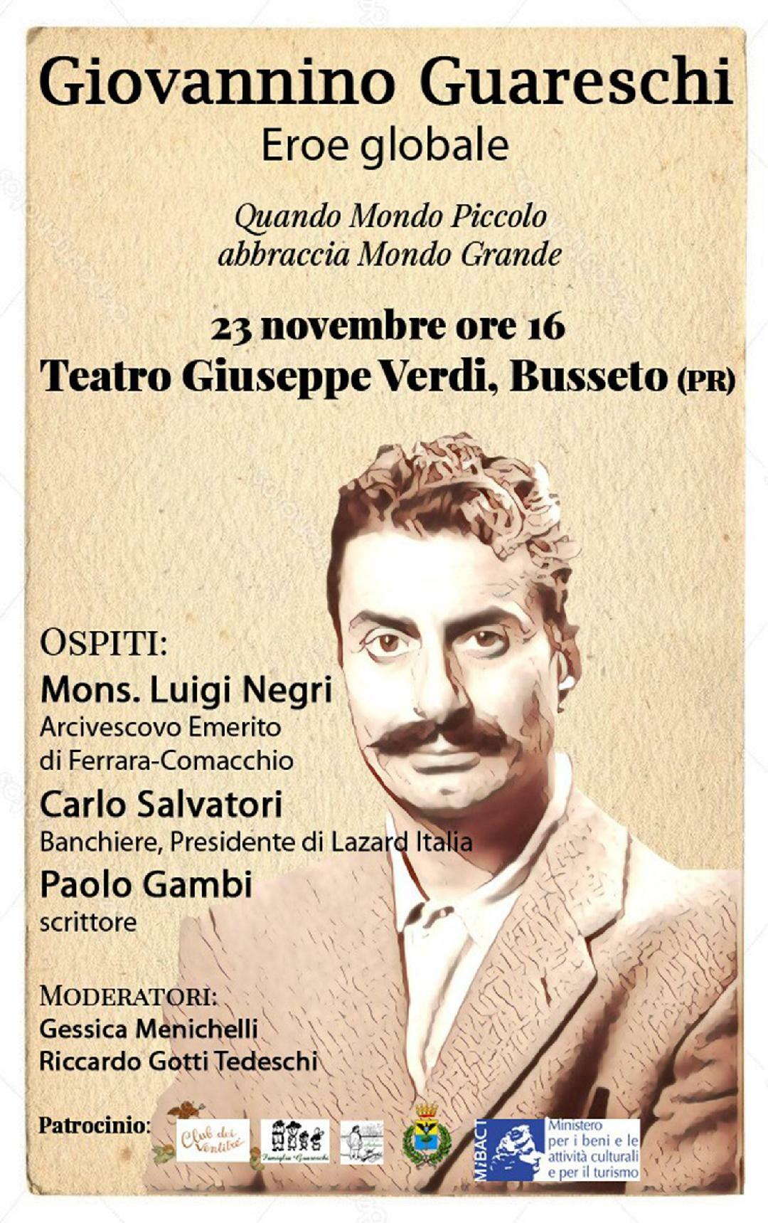 """""""Eroe globale""""! convegno su Giovannino Guareschi a Busseto"""