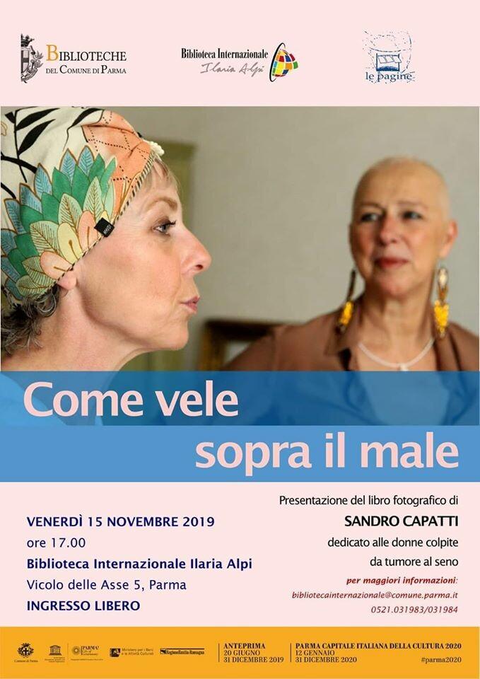 """Presentazione del libro """"Come Vele sopra il Male"""" di Sandro Capatti"""