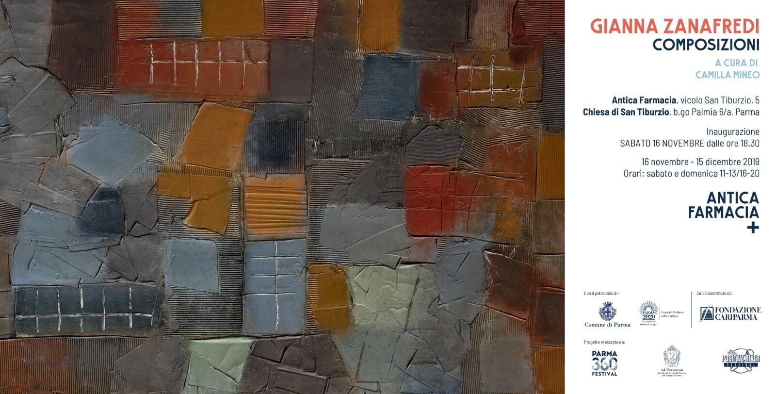 Composizioni, mostra dell'artista Gianna Zanafredi
